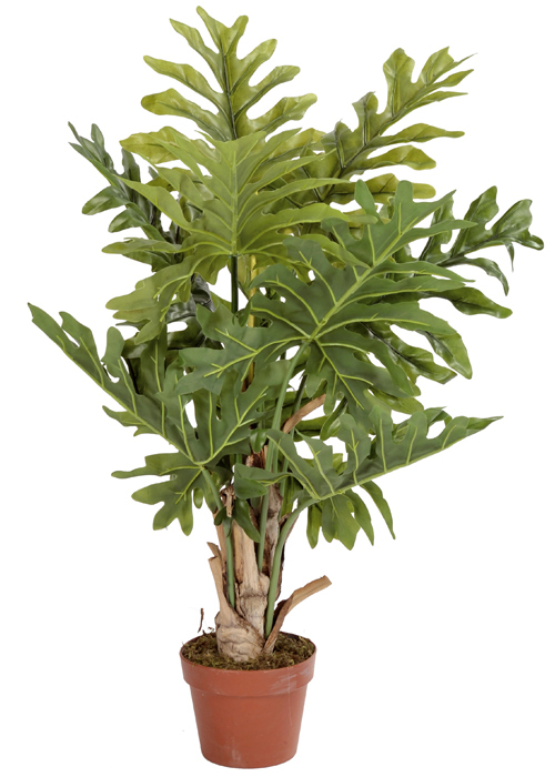 plante artificielle tropicale monstera d coration d 39 int rieur cm. Black Bedroom Furniture Sets. Home Design Ideas