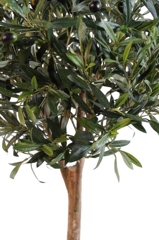arbre artificiel olivier new ball tree plante pour int rieur cm vert. Black Bedroom Furniture Sets. Home Design Ideas