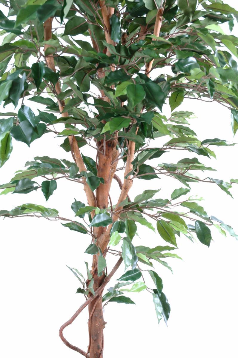 arbre artificiel ficus tronc simple plante synthetique int rieur cm. Black Bedroom Furniture Sets. Home Design Ideas