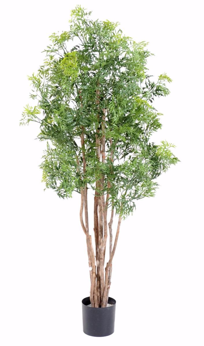 Plante artificielle aralia ming interieur cm vert for Plante artificiel interieur