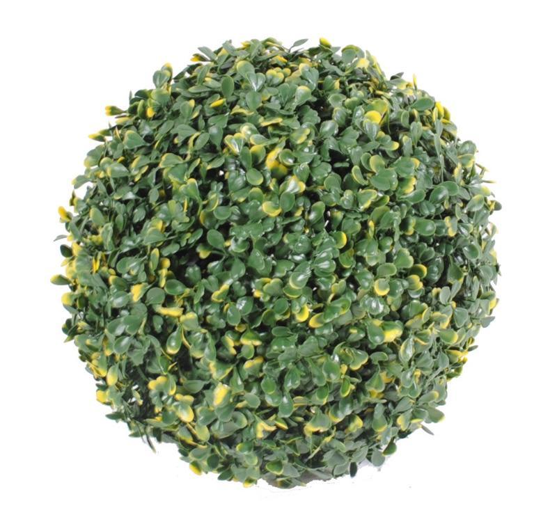 Plante artificielle boule de buis artificiel d coration for Boule de buis ikea