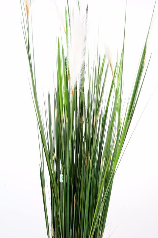 Plante artificielle Graminée Carex Vulpina natural - intérieur - H ...