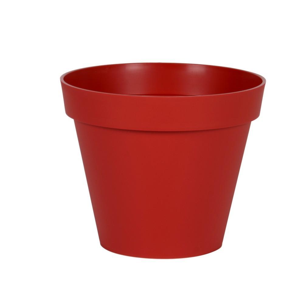 Pot Pour Fleur Toscane Rond Interieur Exterieur O 80 Cm Anthracite Eda
