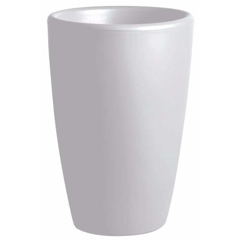 pot pour fleurs vase int rieur ext rieur x cm blanc. Black Bedroom Furniture Sets. Home Design Ideas