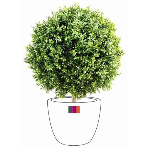 plante artificielle buis boule int rieur ext rieur cm vert. Black Bedroom Furniture Sets. Home Design Ideas