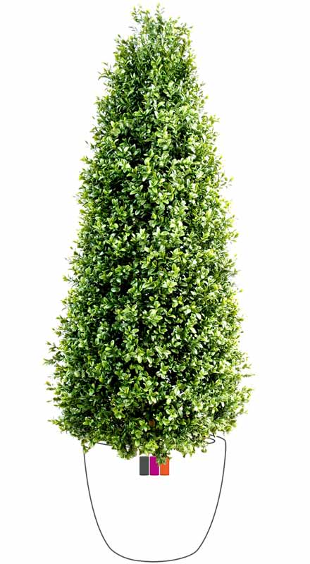 Plante artificielle buis topiaire pyramide int rieur for Plante 70 cm