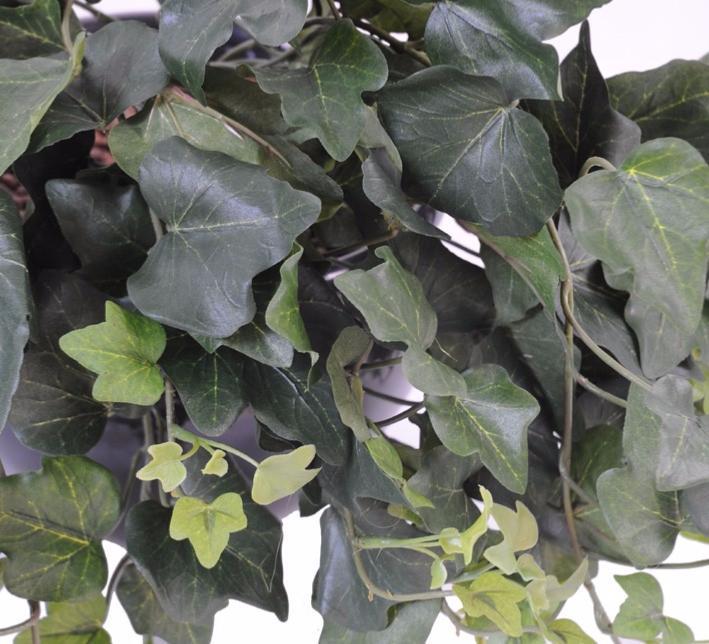 Feuillage artificiel Guirlande Lierre - intérieur - H.200 cm vert