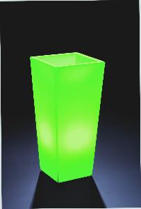 Bac carr lumineux d coration pour int rieur et for Bac lierre plastique