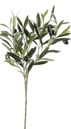 Feuillage artificiel olivier branche composition florale for Branche bambou artificiel