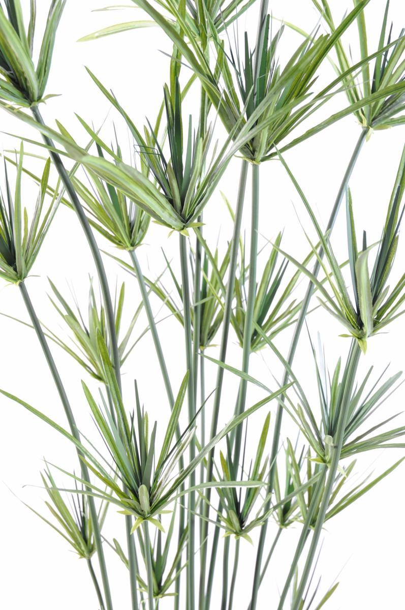 plante artificielle papyrus ornemental plastique en pot. Black Bedroom Furniture Sets. Home Design Ideas